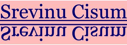 Srevinu Cisum